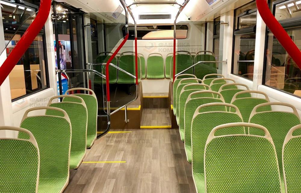 Салон электробуса