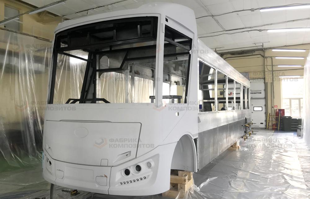 Кузов электробуса готов к отправке на площадку основной сборки