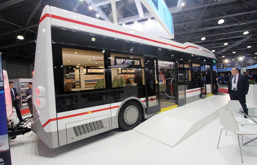 Электробус «ПИОНЕР» на выставке Busworld Russia