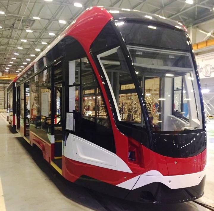 Выполнена поставка деталей для трамваев 71-923М «Богатырь М»