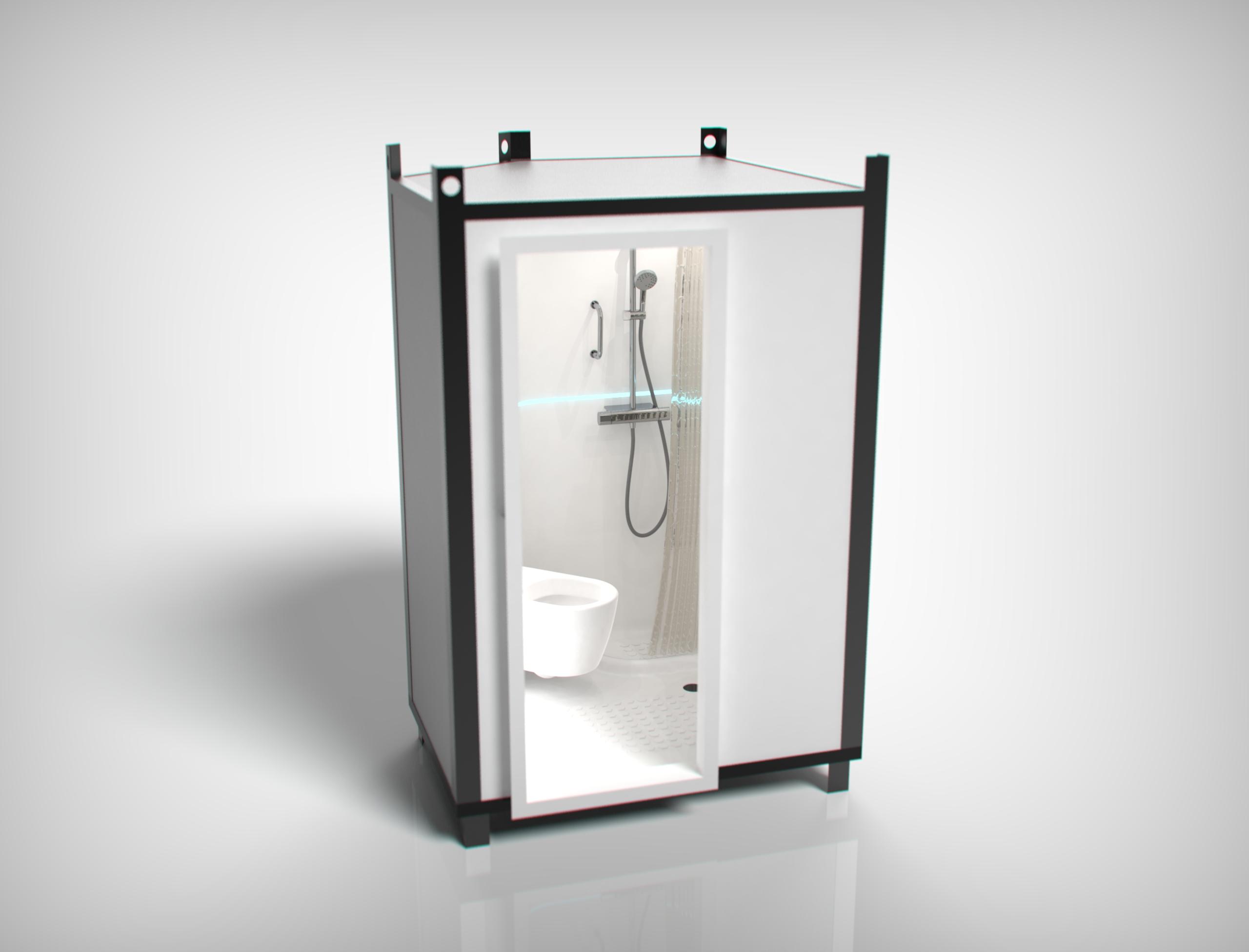 «Фабрика композитов» осуществила поставку опытного образца санитарного модуля