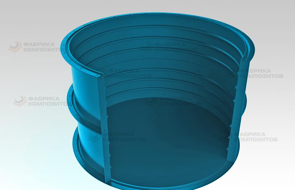 Емкости из стеклопластика