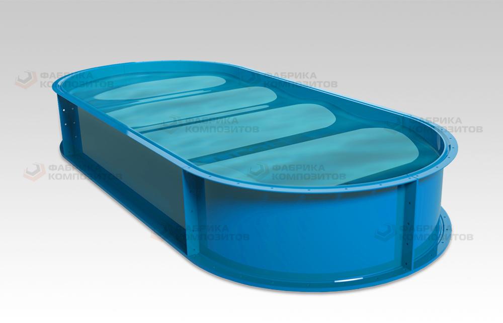 Применение стеклопластиковой емкости