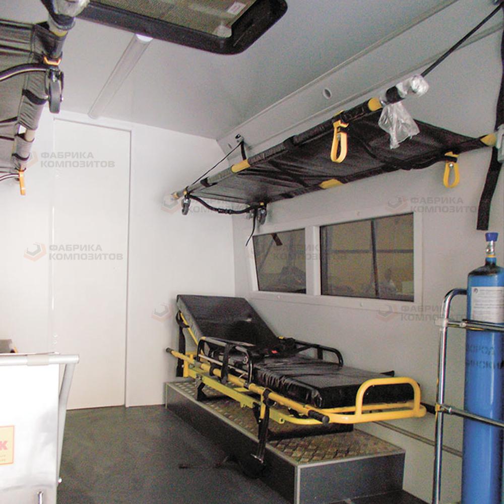 Рабочее место реанимационно-эвакуационного комплекса