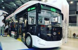 Электробус «Пионер» на выставке «ЭлектроТранс 2018»