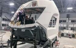 Процесс создания модуля кабины машиниста