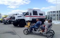 Спецавтомобили ГАЗон-NEXT и Урал-NEXT на выставке «Армия – 2018»