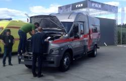 Спецавтомобиль ГАЗон-NEXT на выставке «Армия – 2018»