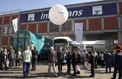 Трамваи «Лев» и «Львенок» на выставке InnoTrans 2018