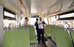 Трамвай  71-911 ЕМ «Львенок» на выставке InnoTrans 2018