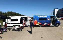 Мобильный штаб Chrome Racing Kids на Чемпионате России по Супермото