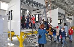 Школьная экскурсия на «Фабрике композитов»