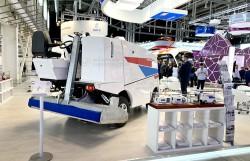 Ледовый комбайн «Форвард-МАКС» на выставке «Иннопром-2019»