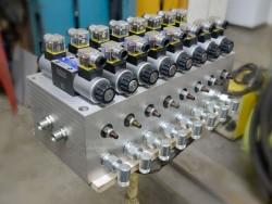 Элемент гидравлической системы, собственная разработка и изготовление