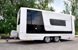 Прицеп-фургон производства «Фабрика композитов»