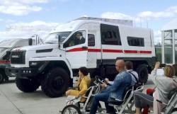 Спецавтомобиль на базе УРАЛ-NEXT на Форуме «Армия». Раздел «Медицина катастроф»
