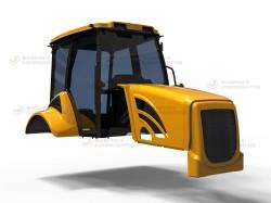 Производство элементов экстерьера и интерьера тракторной техники