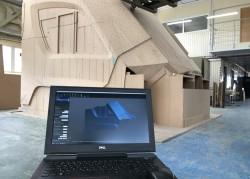 3 D сканирование кабины электропоезда «Иволга»