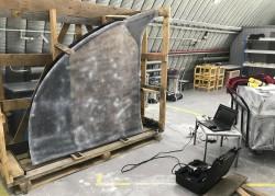 3 D сканирование стекла задней кабины «Витязь-М»