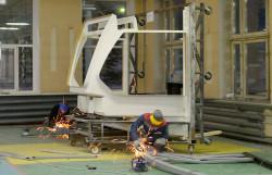 Изготовление силового каркаса модульной кабины трамвая «Витязь-М»