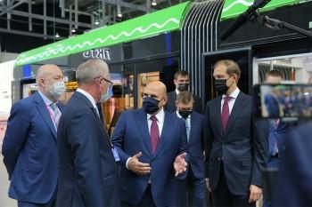 Премьер-министр Мишустин на выставке Иннопром
