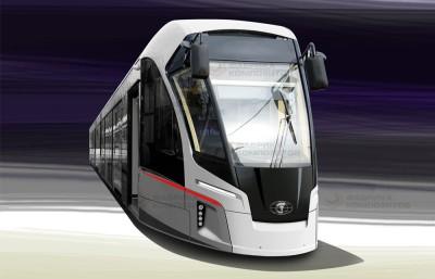 Концепт-дизайн трамвая «Львенок»