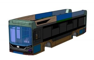 Обновленный троллейбус Адмирал