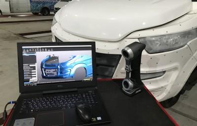 3D сканирование минивена