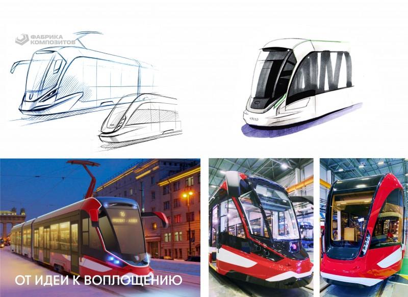 Первый в России трамвай с алюминиевым кузовом представлен в г. Санкт-Петербурге