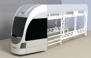 В России готовится к выпуску модель узкоколейного трамвая