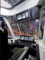 Интерьер рабочего места водителя