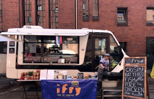 Фудтрак производства «Фабрика композитов» на European Street Food Awards