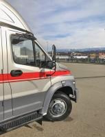 Спецавтомобиль на базе шасси ГАЗон на форуме «Здоровое общество» в Сочи