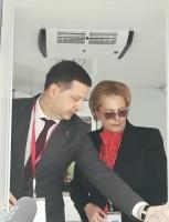 Презентация медпоезда Министру Здравоохранения РФ В. И. Скворцовой
