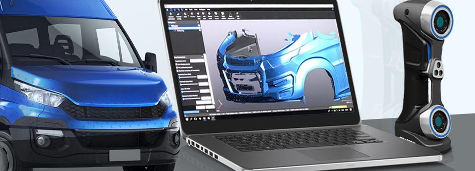 Промышленное 3d сканирование
